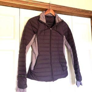 Purple Lululemon down jacket